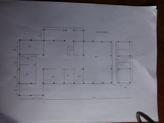 Plan for medical clinic of Laykontu