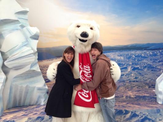 jackson with polar bear