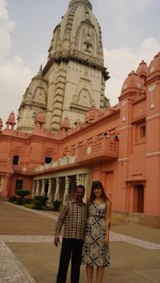 Princess amy at temple with Diamond