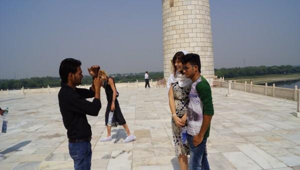princess amy at Taj